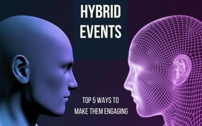 Hybrid Events – Top 5 ways to make them engaging
