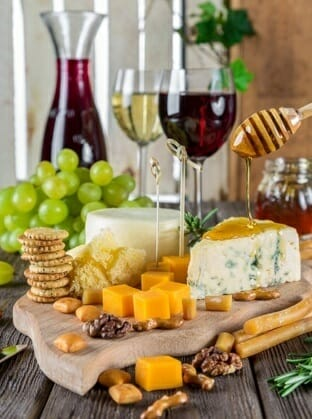 Virtual Event Wine and Cheese Tasting Experience